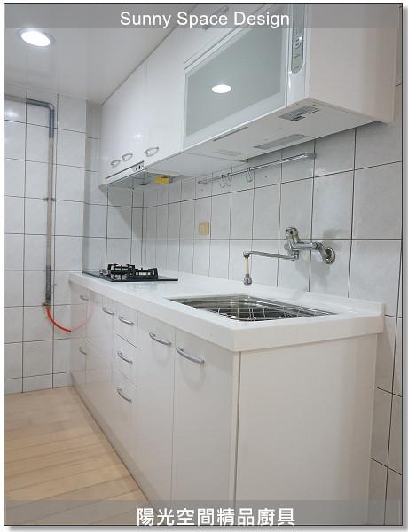 廚具│廚具大王│陽光廚具-作品243-一字型廚具-陽光空間精品廚具