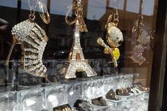 Eiffel (gardnaman) Tags: tower shop high display kitsch eiffel charm souvenir heels rhinestone