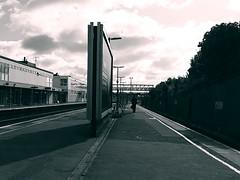 Waiting on platform one , Gillingham Station [shared] (Simon Bolton UK) Tags: train kent medway s5 gillinghamstation
