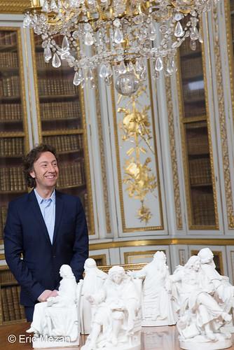 Secrets d'Histoire : tournage Louis XVI au château de Versailles, janvier 2015