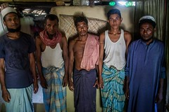 Exodus from the Bay of Bengal (UNHCR) Tags: men asia indoor help aid protection bangladesh assistance bgd unhcr makeshiftshelter unrefugeeagency statelessness samlapur unitednationshighcommissionerforrefugees unhighcommissionerforrefugees rohingyarefugees