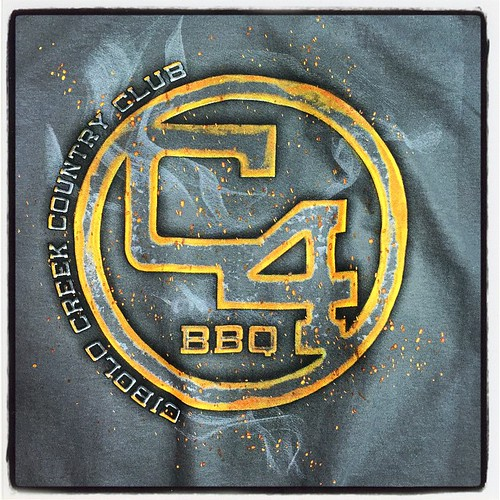C4 BBQ. Only the best BBQ deserves shirts like this. #Expertees #tshirts #bbq #texas