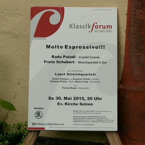 Klassikkonzert(e) in der evangelischen Kirche in Selzen