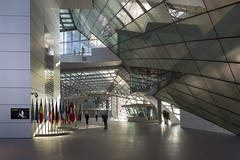 mm_European Central Bank design by  Coop Himmelb(l)au_10 (milimetdesign) Tags: coophimmelblau ecb europeancentralbank frankfurt germany banking deconstructivistarchitecture euro finance modernarchitecture