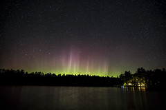So my first time catching the northern lights! must say they were amazing!!! Aurora Borealis, Northern Lights. (mpmark) Tags: northernlights north cottage cottagelife green lake kashwakamaklake geoffscottage 5dmkiii 247028lii longexposure landscape bigdipper dipper stars astro astronomy