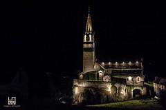 FESTA (Lace1952) Tags: chiesa luci notturno effetto led baceno valleantigorio ossola vco piemonte italia nikond7100 nikkor18300vr
