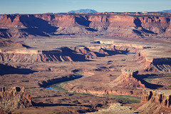 Early Morning Over the Green River (jeff_a_goldberg) Tags: greenriver utah landscape greenriveroverlook nature nationalparkservice nps canyonlandsnationalpark islandinthesky moab unitedstates us