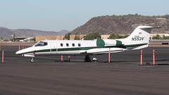 Gates Learjet 35A N553V (ChrisK48) Tags: 1977 35 aircraft airplane dvt gateslearjet35a kdvt lear n553v phoenixaz phoenixdeervalleyairport