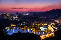 (Garygogogo) Tags: taiwan taipei canon canoneos60d 1585mm city park sky sunset