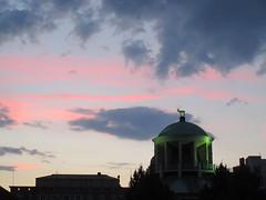 Kunstgebude cupola and sunset sky, Stuttgart, Germany (Paul McClure DC) Tags: stuttgart germany deutschland aug2016 badenwrttemberg architecture historic