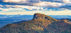 Table Rock in Fall (APGougePhotography) Tags: table rock north carolina northcarolina nc mountains clouds cloudsstormssunsetssunrises nikon nikond800 d800 nik colorefexpro lightroom adobelightroom adobe fall colors color sunset sunlight efex pro