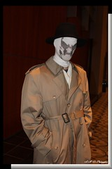 Comic Cons Rorschach (PhotoJester40) Tags: indoors inside comiccon character male rorschach costume amdphotographer