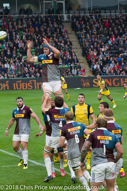 Quins 36 Worcester 14 Aviva Premiership 29th Oct 2016