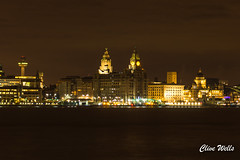 Night view of Liverpool (wells117) Tags: 700d acrossriver canon city clivewells lights liverbuiling liverpool mersey merseyside night nightview river threegraces water waterfront birkenhead england unitedkingdom