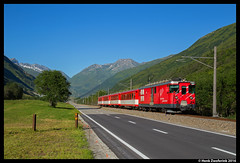 MGB 24, Realp 19-07-2016 (Henk Zwoferink) Tags: realp uri zwitserland henk zwoferink matterhorn gotthard gotthardbahn bahn 24 mgb andermatt