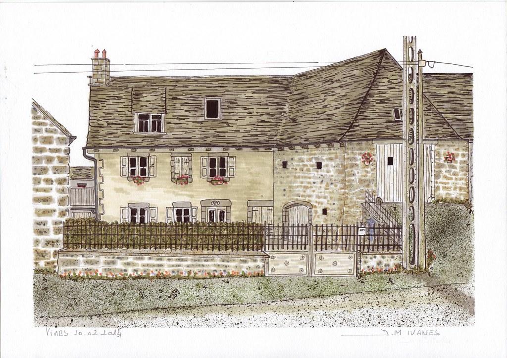 Maison de 1821 à vines aveyron 12 j m i tags