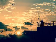 Obsesionado con las siluetas (Ricardo SB) Tags: sun sunset atardecer laspalmas lascanteras laspalmasdegrancanaria laspalmasdegc siluetas