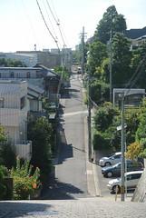 nagoya15922 (tanayan) Tags: urban town cityscape aichi nagoya japan nikon j1 road street alley    slope