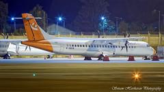 M-ABKM Elix Aviation Capital ATR 72-500 (72-212A) - cn 699 (Sri_AT72 (Sriram Hariharan Photography)) Tags: air pegasus vtapa mabkm atr atr72 atr72500 bengaluru international airport kempegowda blr vobl bia kia devanahalli plane spotting night aviation photography passion love aircraft airplanes flight avgeek geek november 2016