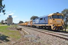 8139 (rob3802) Tags: marinna artc pacificnational 81class 8139 ballattrain junee locomotive loco railway rail train diesel diesellocomotive dieselelectriclocomotive
