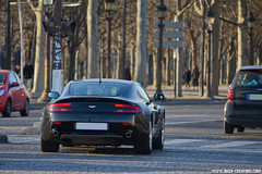 Spotting 2012 - Aston Martin V8 Vantage (Deux-Chevrons.com) Tags: astonmartinv8vantage astonmartin v8vantage v8 vantage aston martin supercar exotic exotics prestige luxe luxury spot spotted spotting croise rue street paris france carspotting