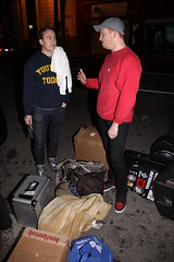 Danny getting a lecture from Austin (Dan Rawe Photography) Tags: fury revelationrecords suburbanfight union