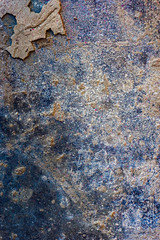splatter Art 109 (Jae at Wits End) Tags: textured abstract blue color rust texture corroded corrosion line lines metal oxidation oxidized patina pattern rustic rusty shape shapes wear weathered