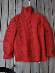 Hot sexy red fisherman turtleneck (Mytwist) Tags: amatilda turtleneck rollneck woolfetish wool woolen fashion fetish fuzzy unisex retro style sexy grobstrick handgestrickt handknit heavy heritage expensive exclusive aranstyle aransweater authentic cabled craft cozy classic