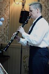 Sarah Spencer's Transatlantic Band (2016) 03 - Sarah Spencer (KM's Live Music shots) Tags: jazz greatbritain sarahspencer clarinet thursdaylunchtimecharityjazz winningposttwickenham