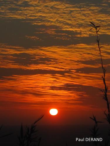 sunset from St Leu