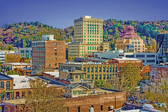 View of downtown Asheville, North Carolina, USA (Jorge Marco Molina) Tags: asheville northcarolina downtown density urban cityscape highrise building historical architecture