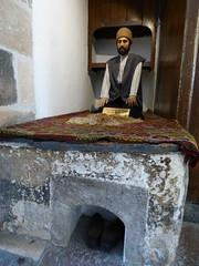 Konya - Mevlana Turbesi, museum, dining room reconstruction (9) (damiandude) Tags: rumi dervish sufi