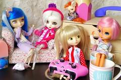 Girl Squad ~ Cassidy, Heaven, Jun & Aelixire ~ (Alexiire) Tags: doll dolls poupes squad girls pullip mir chelsea paja2005 paja angelgate