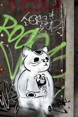 Graffiti (Quetzalcoatl002) Tags: graffity graffiti street amsterdam cat