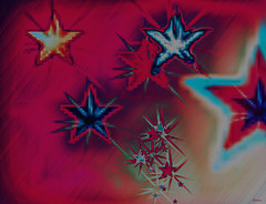 Star Scape (Paul B0udreau) Tags: digitalartcreatedfromablankcanvas tonemapping layer abstract digitalabstract digitalart blart photoshop
