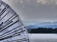 TiemPO. (Warmoezenier) Tags: fontein brunnen zwitserland romanshorn lake meer see aqua water landscape landschap