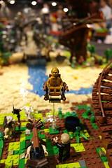 SAM_1490 (Silverflame Pictures) Tags: brickmania antwerpen 2016 lego starwars c3po lukeskywalker