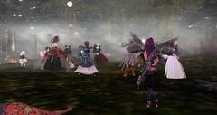 Avilion Nexus - Zombie Pride and Prejudice (Osiris LeShelle) Tags: secondlife second life avilion nexus zombie pride prejudice party music dance costumes