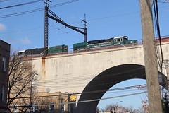 IMG_1612 (GojiMet86) Tags: csx nya atlantic conrail nyc new york city railroad train 1976 2016 gp382 pr20b 268 300 nycr connecting viaduct astoria