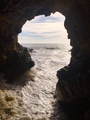 The Cave (TheMightyEye) Tags: coastal california leo carrillo state beach seacave themightyeye