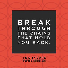 Break through the chains that hold you back. (Daily Dare) Tags: uploadedviaflickrqcom empowerment brave beyou gutsygirl gutsygirlclub girlpower dailydare