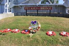 Pegasus Bridge, Normandy, France WW2. (Seckington Images) Tags: ww2 flickr pegasus france dday