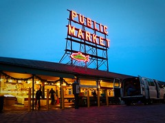Early Morning, Pike Place Market (quietseattle) Tags: pikeplacemarket pikemarket seattle