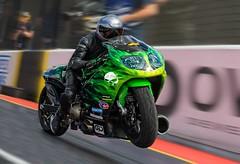 Blast off (bainebiker) Tags: motorcycledragracing santapod wheelie motorcycle motorsport turbo canonef100400mmf4556lis podington northamptonshire uk canonef100400mmf4556lisiiusm panning