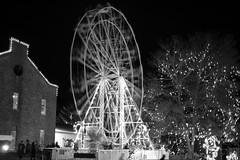 The Wheel of Fear (SopheNic (DavidSenaPhoto)) Tags: fujinon35mmf14 ferriswheel xe1 multipleexposure edavillerailroad fuji blackandwhite monochrome fear carver massachusetts unitedstates us