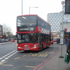 Go-Ahead London Metrobus 956 YR58SNZ - route 293 to Epsom General Hospital (Unorm001) Tags: 956 yr58snz yr58 snz goahead go ahead london general metrobus
