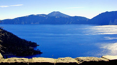 Crater Lake Blues, OR 8-13 (inkknife_2000 (7 million views +)) Tags: craterlakenationalpark oregon volcano craters usa northamerica nationalparks forests mountains peaks dgrahamphoto landscapes skyandclouds bluewater