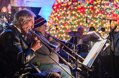Holiday Notes (Keoni Cabral) Tags: balboapark decembernights decembernightsbalboapark christmas holiday music trumpet instrument horn horns holidaymusic perform performance musician