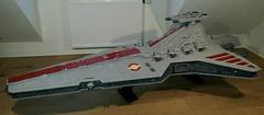 Venator class star destroyer by Philipp Neumann (Commander Cloverleaf) Tags: stra wars ship craft space republic destroyer class venator ucs lego big fighter cruiser jedi attack imperial