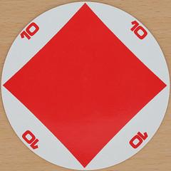 Gerard Wibin Designed playing card 10 of Diamonds (Leo Reynolds) Tags: playing diamonds canon eos iso100 diamond deck card round squaredcircle 60mm f80 circular gerard playingcard carddeck 025sec 40d hpexif xleol30x sqset079 wibin gerardwibin